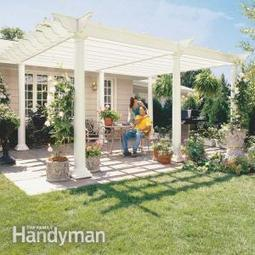 How to Build a Pergola   House Rennovations   Scoop.it