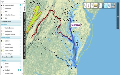 Chesapeake Bay FieldScope | Developing Spatial Literacy | Scoop.it