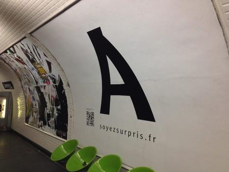 QR codes et affichage : 4 exemples dans le métro parisien | Le blog de Madmagz | eMarketing2011 | Scoop.it