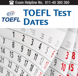 TOEFL Test Dates 2014 for India- Declared | Study Abroad | Marketing Tips | Scoop.it