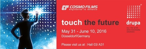 Cosmo Films Limited at drupa Germany 2016 | Bopp films | Scoop.it