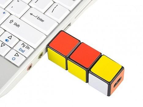 Du Rubik's Cube pour votre port USB | All Geeks | Scoop.it