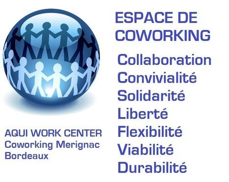 Le concept du Coworking   Coworking  Mérignac  Bordeaux   Scoop.it