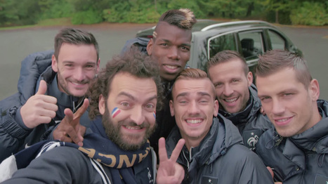 Volkswagen lauches carpooling platform for French Football Association Fans | Sustainable Entertainment - #OneYoungWorld - #HavasSE | Scoop.it