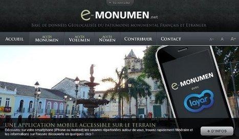 IL Y A 5 ANS ... e-Monumen passe du web au mobile (sur iPhone et Android) | Clic France | Scoop.it