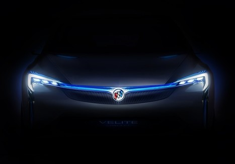 Buick Officially Reveals New Velite Concept in China [PHOTOS] | Buick | Scoop.it