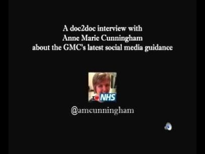 doc2doc interview with Anne Marie Cunningham about GMC's social media guidance for doctors | Developing Your Digital Presence | Scoop.it
