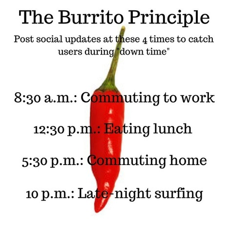 The Burrito Principle + 11 More Unique Marketing Ideas | Artdictive Habits : Sustainable Lifestyle | Scoop.it