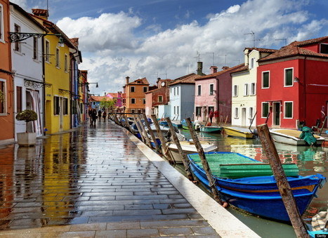 Cheer you up in Burano | Italia Mia | Scoop.it