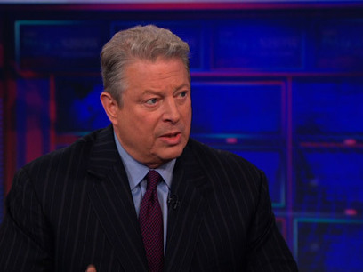 Daily Show: Exclusive - Al Gore Extended Interview Pt. 4 | A Container for Thought | Scoop.it