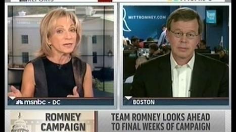 MSNBC host shuts down Romney surrogate: 'I fact checked the apology tour… it didn't happen'   Gender, Religion, & Politics   Scoop.it