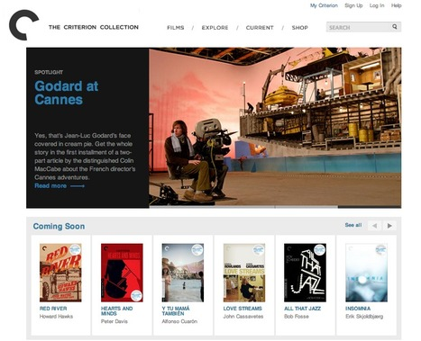 Online Film Boutique Curates Unique High-Quality Editions: The Criterion Collection | Le Microbloging en 3.0 ! | Scoop.it