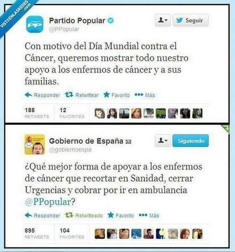 Twitter / yuulamb: Partido Popular, hipócrita ... | Partido Popular, una visión crítica | Scoop.it