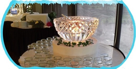 Ice centerpieces Canada | Festiveice | wedding and event planning | Scoop.it