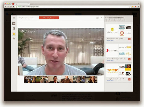 "Google Brings The Telethon Online With First-Ever ""Hangout-a-thon"" 