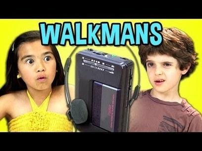 KIDS REACT TO WALKMANS (Portable Cassette Players) - YouTube | Enfants-Education-Culture et numérique | Scoop.it