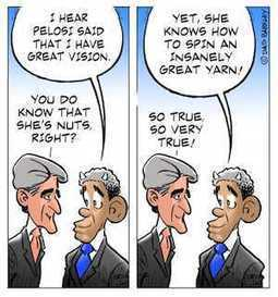Kerry and Obama on Pelosi