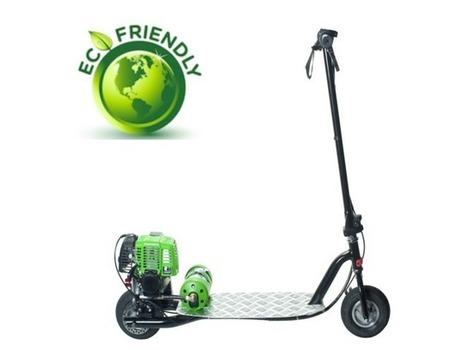 Propane Powered Motor Scooter-Go Clean, Go Green, Go PROGO! | Creativity | Scoop.it