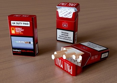 Pall Mall Cigarette Product Modeling | Technology & 3D Visuals | Scoop.it
