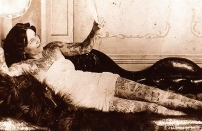 6 photographs of tattoos vintage | a little bit of italy and web resources | Scoop.it