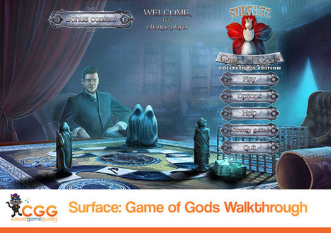 Surface: Game of Gods Walkthrough: From CasualGameGuides.com | Casual Game Walkthroughs | Scoop.it