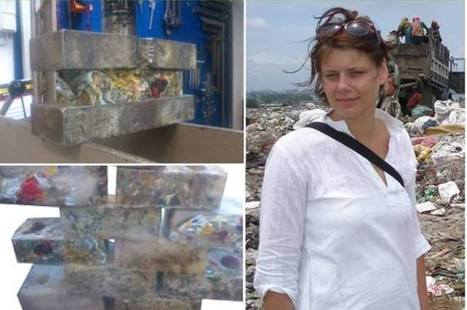 Recycler les sacs plastiques usagés pour construire des habitations | Ca m'interpelle... | Scoop.it