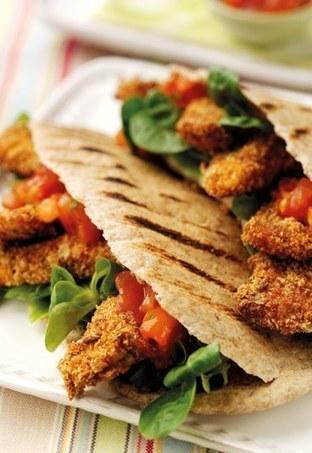 Pita integrale con pollo - Ricette integrali per un'estate all'insegna della leggerezza | Mangiare diverso | Scoop.it