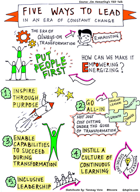 Putting People First: Leading in an Era of Constant Transformation | Network Leadership | Scoop.it