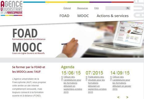 FOAD-MOOC: un nouveau site pour les partenariats entre l'AUF et certaines universités | MOOC | Scoop.it