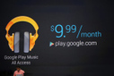 "Google Launches ""Google Play Music All Access"" On-Demand $9.99 A Month Subscription Service 