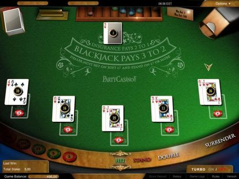 Juego en línea Multi-hand Blackjack | Online Casino | Scoop.it