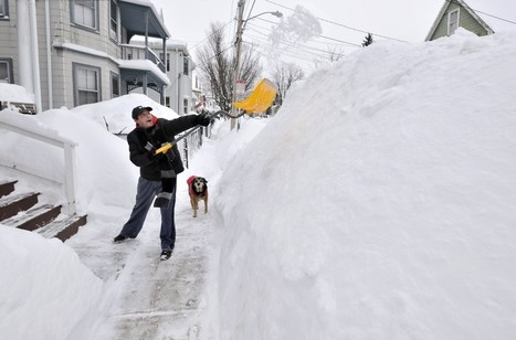 Boston plows toward snowiest season on record with two more storms on the way | Weather And Disasters | Scoop.it