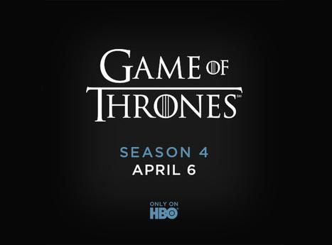 Game of Thrones Saison 4 : Une date pour le premier épisode ! | Film | Scoop.it