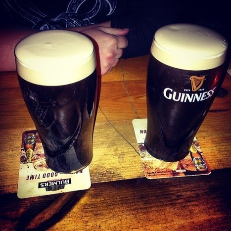 .@puckfarrar | Guinness is good for you #guinness #hogsandheifers#rock#bar#swords#dublin#ire... | Webstagram | Hogs & Heifers | Scoop.it