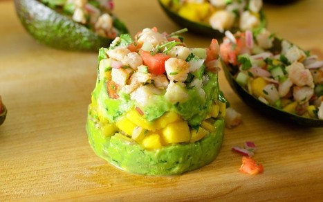 #HealthyRecipe : Shrimp Ceviche Stacks | The Man With The Golden Tongs Goes All Out On Health | Scoop.it