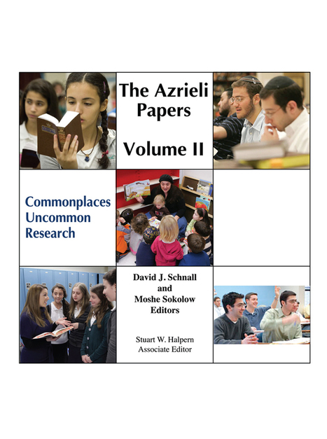 The Azrieli Papers Volume II | Jewish Education Around the World | Scoop.it