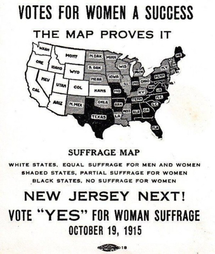 "Founding Feminists: October 15, 1915 ""New Jersey Next!"" | Herstory | Scoop.it"