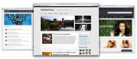 Een website op basis van Wordpress - ErikdeVries.com | WordPress | Scoop.it