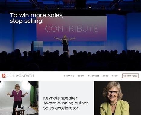 15 Examples of Brilliant Website Homepage Design | Marketing, comunicación, contenidos | Scoop.it