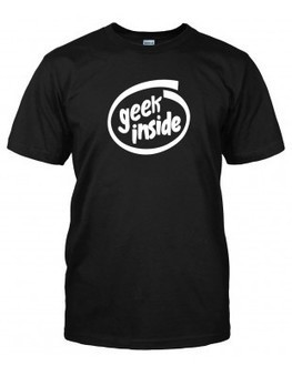 Geek Inside T-shirt | 3D Virtual-Real Worlds: Ed Tech | Scoop.it