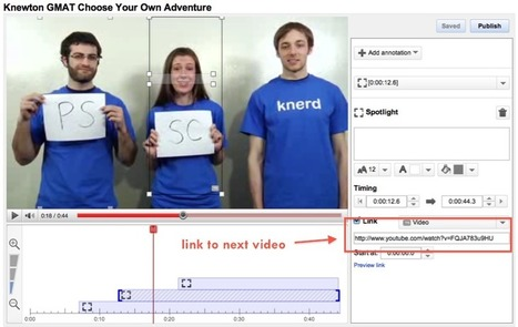 How to Make an Interactive Lesson Using Youtube | Knewton Blog | English teaching & Learning | Scoop.it