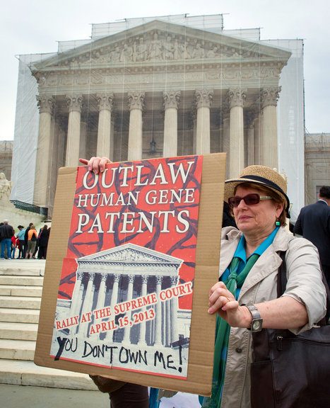 Supreme Court says natural human genes can't be patented - NBCNews.com (blog) | National News and Politics | Scoop.it