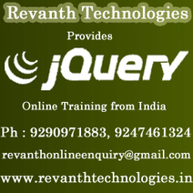 JQuery online training | Online Training from Hyderabad | Scoop.it