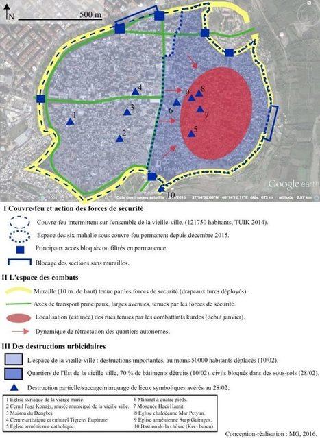 Urbicide en cours au Kurdistan: Diyarbakır, de la ville-refuge à la ville-cible (Urbanités) | Géographie des conflits | Scoop.it