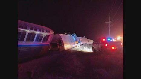 26 injured in Western Kansas Amtrak derailment | Railway's derailments and accidents | Scoop.it