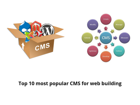 Top 10 most popular CMS for your web building - Tech information on Geek Story   Story of the day   Scoop.it