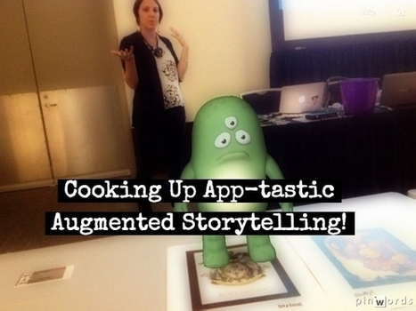 Cooking Up Augmented Storytelling | iPad Apps in the Classroom | Scoop.it