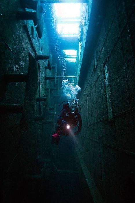 15 Amazing Shipwrecks, Boat Graveyards & Abandoned Vessels | Urban Ghosts | | DiverSync | Scoop.it