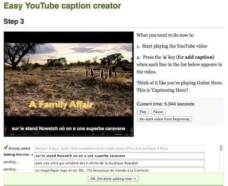 Créer des sous titres pour vos vidéos sans perdre 1 seconde | Korben | Accessibilité numérique | Scoop.it