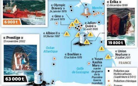 Pollutiondes côtes : les épaves accusées   Autres Vérités   Scoop.it